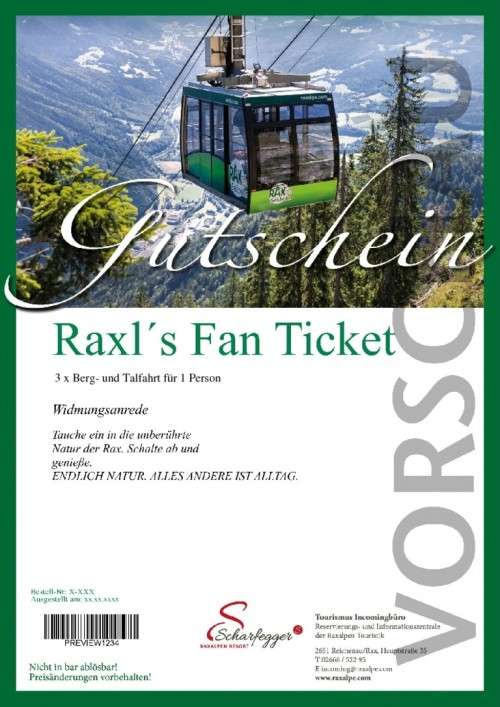 Raxl's Fan Ticket